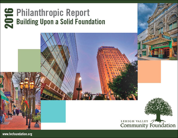 Community Foundation's 2015-2016 Annual Philanthropic Report.