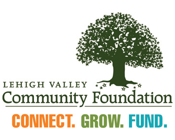 Lehigh Valley Community Foundation Logo Connect. Grow. Fund.