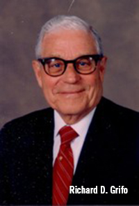 The late Richard D. Grifo